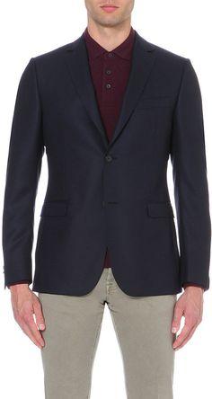 Z Zegna Textured Jacquard Wool Jacket - for Men