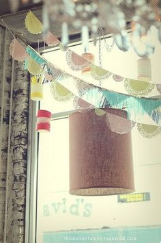 27 Spectacular Bunting Projects @Sonja Lott Schleusner I thought you might like this as well!