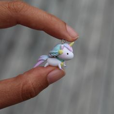 Little pastel unicorn by thelittlemew on Etsy