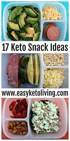17 Keto Snacks On The Go Ideas - Easy Low Carb Ketogenic Diet Snacks for on the road, run, work or late night. Sweet and savory snack ideas that require little to no preparation. paleo for beginners losing weight #runningdiet