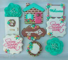 Housewarming cookies by Sweet Butter Bakery