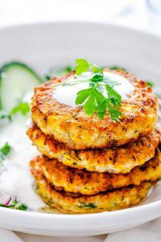 Crispy Corn Fritters Recipe | Little Sunny Kitchen