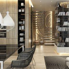Loft дизайн дома