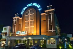 Malang Hotel Trio Indah 2 Indonesia, Asia Hotel Trio Indah 2 is conveniently located in the popular Malang Center area. The hotel offers a high standard of service and amenities to suit the individual needs of all travelers. Service-minded staff will welcome and guide you at the Hotel Trio Indah 2. Some of the well-appointed guestrooms feature television LCD/plasma screen, internet access – wireless, internet access – wireless (complimentary), non smoking rooms, air conditioni...
