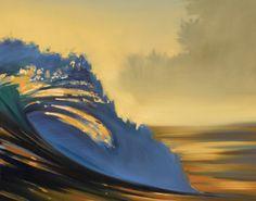 "Wade Koniakowsky Art Print ""Blue Lip"""