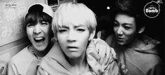Jhope, Taehyung, & Jungkook / We Heart It