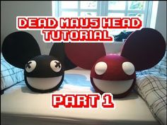 DeadMau5 head Full time lapse step by step video tutorial