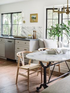 Project Reveal Gorgeous Galley Kitchen Boutique InteriorNorthern VirginiaDining Room