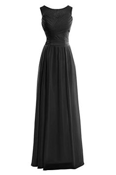 Dora Bridal Women´s Elegant Chiffon Formal Evening Prom Dress Black Dora Bridal http://www.amazon.com/dp/B016XUIZ2K/ref=cm_sw_r_pi_dp_iDElwb0FYQD4H
