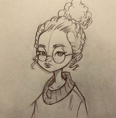52 New ideas drawing ideas doodles sketchbooks – Zeichnung , Kritzeleien und mehr Pencil Art Drawings, Art Drawings Sketches, Cartoon Drawings, Cute Drawings, Animal Drawings, Cartoon Kunst, Cartoon Cartoon, Character Drawing, Character Sketches
