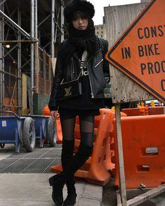 BRENTPHOTO NEW YORK: Outside Spring Studios, New York Fashion Week, 12 ...