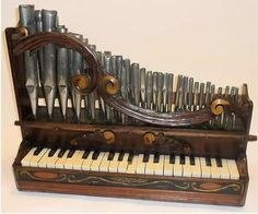 Itty bitty pipe organ is a musical instrument that produces sound by driving pressurized air (called wind) through organ pipes Music Mix, Sound Of Music, Dance Music, Soul Music, Mountain Dulcimer, Early Music, Homemade Instruments, Music Machine, Keyboard Piano