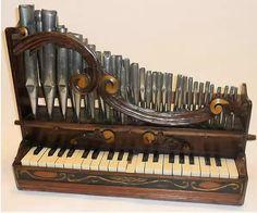 Instrument antique et rare: #streampunk #organ #orgue