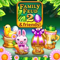 Check out the NEW Easter Tournament in the Family Feud 2 game!! Compete against other players and show them who the best Feuder is! Use this link to download for FREE!! http://ludia.gg/Feud2 #FamilyFeud