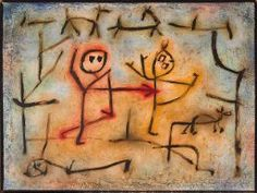 Paul Klee (1879-1940) Heisse Jagd (Hot Pursuit), 1939 (1175).