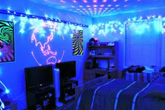 Blacklight Bedroom