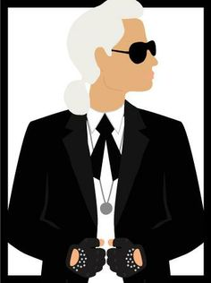 Life advice straight from Karl Lagerfeld