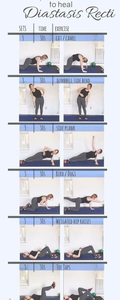 6 Exercises to heal Diastasis Recti. Prenatal and Postnatal core exercises. Tone… 6 Exercises to heal Diastasis Recti. Prenatal and Postnatal core exercises. Tone your tummy with these 6 safe moves. No more mommy. Post Baby Workout, Post Pregnancy Workout, Mommy Workout, After Baby Workout, Workout Fitness, Cellulite Wrap, Reduce Cellulite, Anti Cellulite, Exercices Diastasis Recti