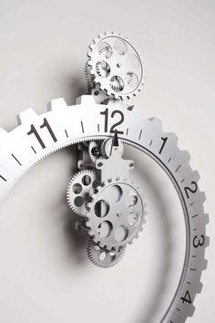 big wheel wall clock