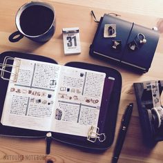"""1,581 Likes, 4 Comments - 夏目 「ナツメノート」 (@natsume_notebook) on Instagram: """"ほぼ日手帳の下敷きの色、2017は緑。暗めの緑が好き。手帳カバーのデザインと一緒にこの色も楽しみのひとつ。。…"""""""