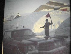 Tempête du siècle, mars 1971 Of Montreal, Close To Home, Color Photography, Far Away, Mars, Photos, Canada, History, Painting