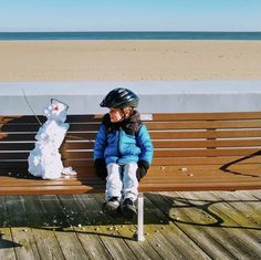 """Who says you can't make new friends at the boardwalk in the middle of winter? ☃️ 🌊"" ~ This stunning shot was taken in #OceanCityMD by Laura Scharle @easternshorepartyof3 (12/27) Use #MarylandsCoast or tag your photos @MarylandsCoast for a chance to have your adventures featured on Worcester County Tourism's social media! 🤗📸🔆 Assateague Island National Seashore, Maryland Beaches, Ocean City Md, Isle Of Wight, Local History, Worcester, New Perspective, New Adventures, Hotels And Resorts"