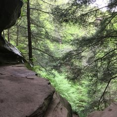 My trip to Hocking Hills- The Rockhouse