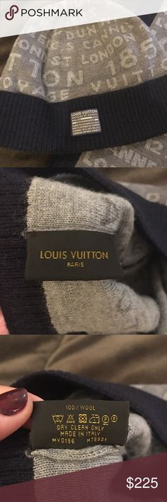 076aae39570 Louis Vuitton Bold Stamps Hat Excellent condition! Worn gently in like new  condition! Serial