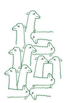 alpaca pattern