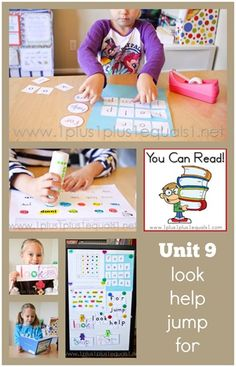 You Can Read Sight Words Unit 9 ~ fun in homeschool Kindergarten learning sight words!