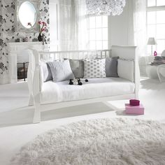Bailey Sleigh Cot Bed - beautiful! It converts into a lovely little sofa.