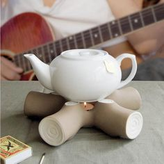 Teapot Campfire Warmer by Invotis - Spark Living - online boutique for unique home d�cor, gifts and accessories