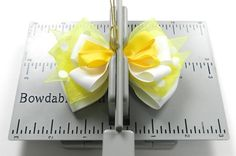 Bowdabra Bow Maker Tutorial--Multi Layer Bows : Hip Girl Boutique LLC, Free Hairbow Instructions, Ribbons, Hair Bows and Clips, Hairbow Hardware and More