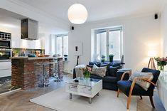 Décorer son petit appartement en optimisant l'espace.
