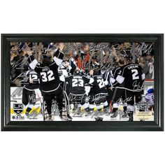 Los Angeles Kings 2014 Stanley Cup Champions Celebration Signature Rink