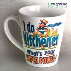 Novelty Mugs for Spinners Knitters Weavers and Crocheters Crochet Tools, Novelty Mugs, Love My Husband, Ceramic Mugs, Creative Studio, Coffee Break, No One Loves Me, Super Powers, Beverages