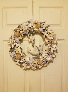 Beach Wreaths, Beach Themes, Burlap Wreath, The Great Outdoors, Decor, Decoration, Burlap Garland, Outdoor Life, Decorating