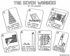 The Seven Wonders of the Deanery #DaveWalker #CartoonChurch
