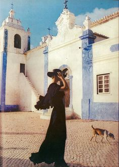 'Into the Algarve Sun' - photo by Norman Parkinson for Vogue UK