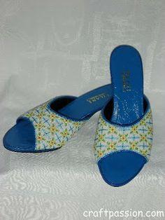 Kasut Manek (perlée Chaussures) | Motif & tutoriel gratuit à CraftPassion.com