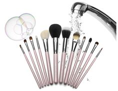 How Can I Clean My Make-up Brushes?  - Are your make-up brushes clean or dirty? Do you clean them regularly? How do you clean them? Cleaning your make-up brushes is a necessity to keep your... -   .