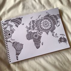 see the world, draw the world