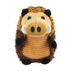 Plush Warthog Pet Toy