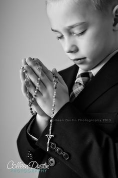 First Communion What a sweet picture!