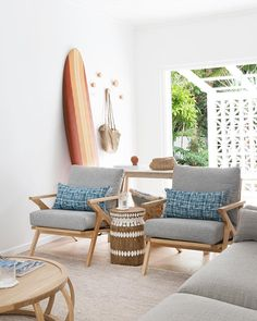 "237 Likes, 5 Comments - Louise | Villa Styling (@villastyling) on Instagram: ""Who's off to the beach today? Still enjoying holiday time? It's a perfect day for a surf gorgeous…"""