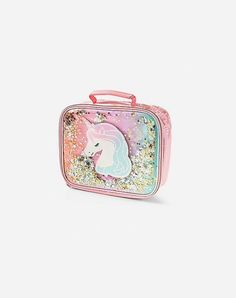 Justice is your one-stop-shop for on-trend styles in tween girls clothing & accessories. Shop our Unicorn Ombre Shaky Lunch Tote. Justice Bags, Lunch Tote, Tween Girls, Unicorn, Girl Outfits, Gemstone Rings, Gemstones, Fashion Trends, Accessories
