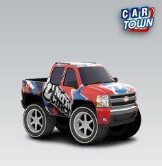 Landan's first chevy truck :)