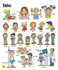 Velká kniha českých slov • Infoa Pre School, Diy For Kids, Worksheets, Homeschool, Teaching, Comics, Children, Fictional Characters, Tela