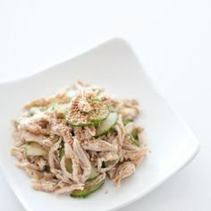 Sesame Chicken Cucumber Salad - Very easy to make and great for summer!