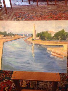 Paesaggio Cervia dipinto da me Painting, Art, Painting Art, Paintings, Kunst, Paint, Draw, Art Education, Artworks